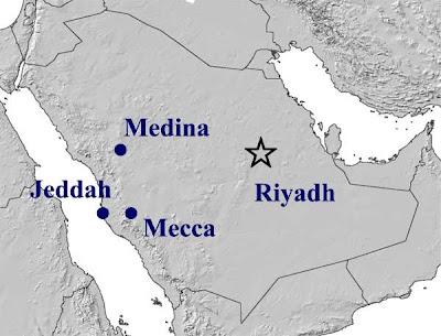 Mecca for the Hajj,