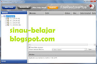 Mengembalikan Data Via File Restore Plus