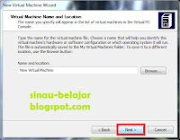 Setting Virtual PC 2007 di Windows 7