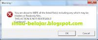 Mengamankan Data Via File Waster 6.7.2