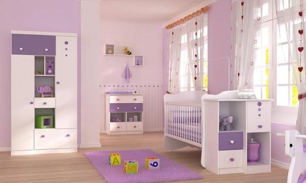 Alternativas de Decoração Quarto Bebé  Decoração de Interiores