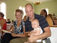 Sam's Baptism - JULY 2008