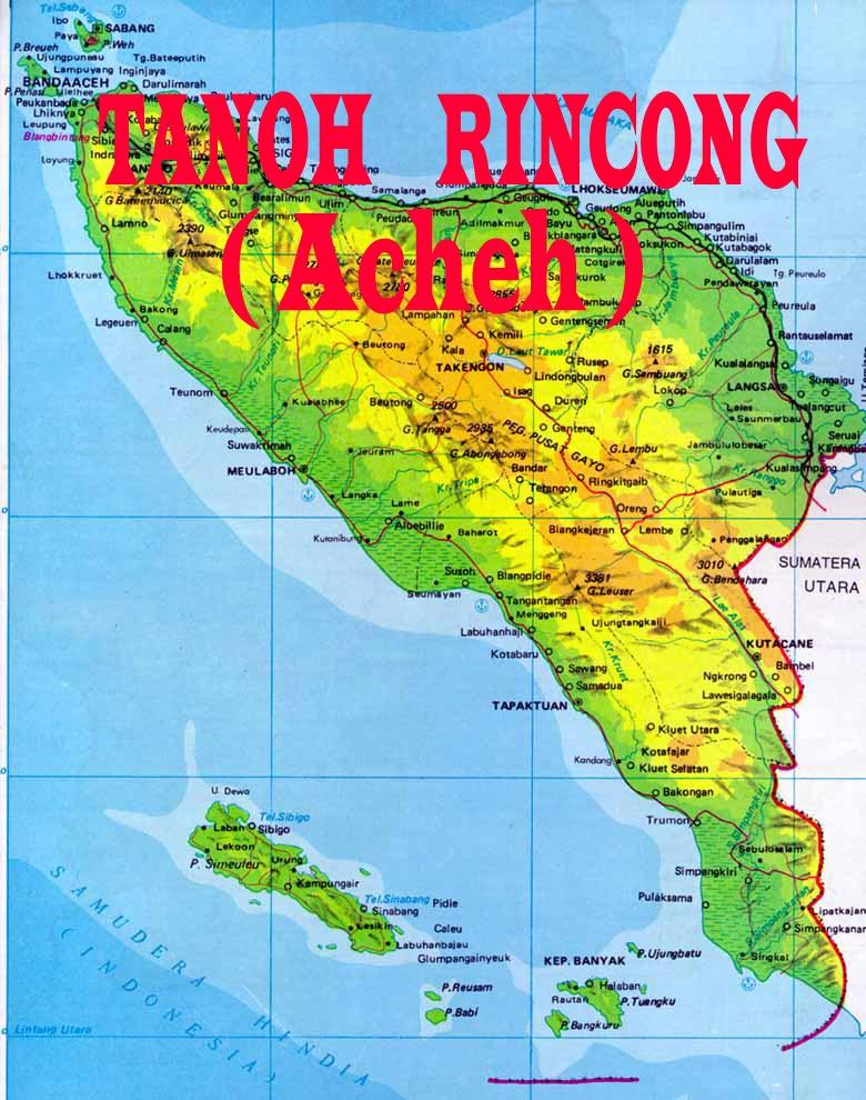TANOH RINCONG