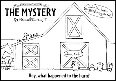 Red Barn Coloring Page http://foplodge35.com/css/Red-Barn-Coloring-Page.html