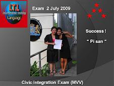 """congratulation to """" พี่ศัน """"  สอบครั้งเดียวผ่่าน กับคะแนนเต็ม 100 % รูปภาพค่ะ"""