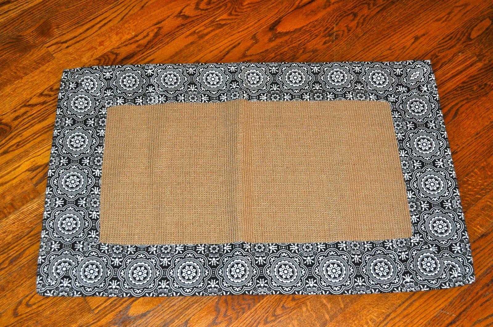 Martha Shmartha: Freezer Paper Monogrammed Doormat Tutorial