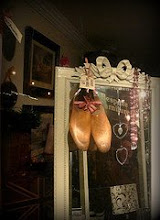 Wooden Shoes tied with Ribbon
