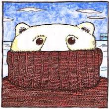 Ese osito polar necesitaba urgente ayuda psicológica: tenía frío.