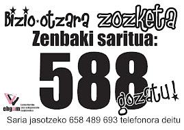 2010-01-06 . BIZIO-OTZARA ZOZKETA