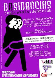 """2009-12-17 . """"DESEO Y RESISTENCIA"""" LIBURUAREN AURKEZPENA DONOSTIAN"""