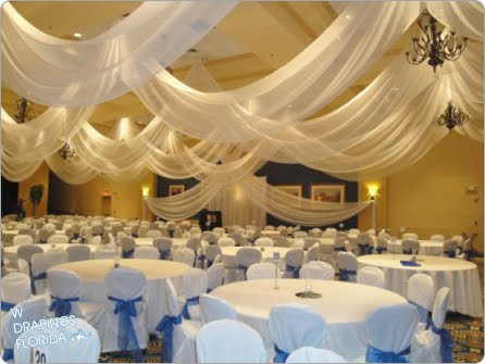 Wedding Reception Ceiling Decorations