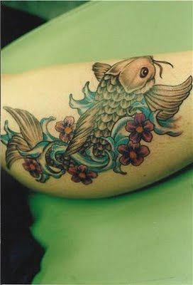 Immortal tattoo koi fish and their meaning for Koi fish meaning