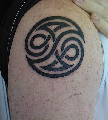 Ying Yang Tattoo Designs