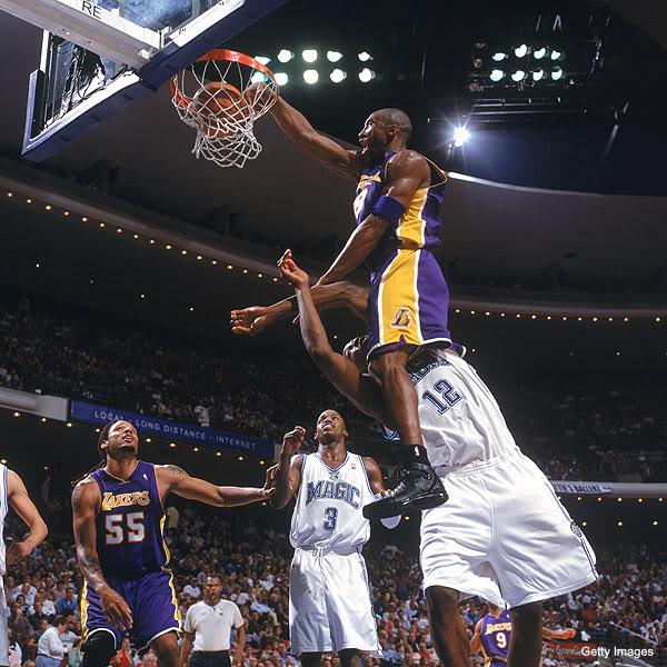 paul pierce dunking on kobe. Best Kobe Bryant Dunks