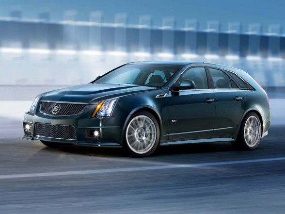 Cadillac CTS-V Sport Wagon 2011 Test Drive