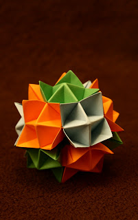 origami spike ball instructions