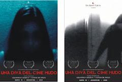 """afiches de """"Una diva del cine mudo"""""""