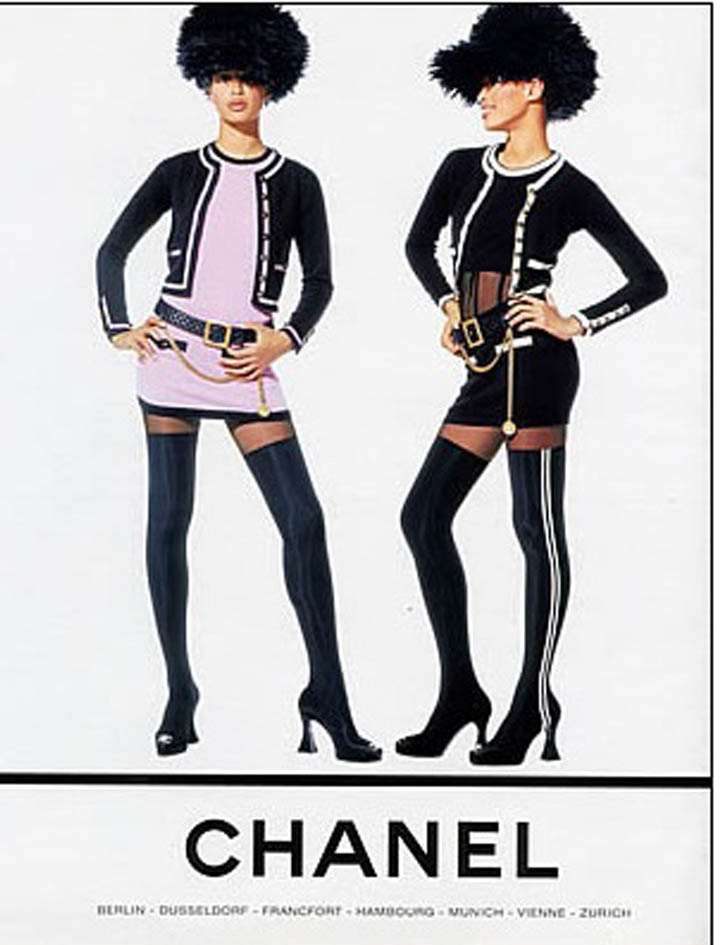 some awesome radness love vintage chanel ads