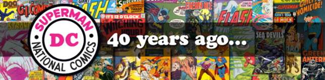 DC Comics 40 Years Ago