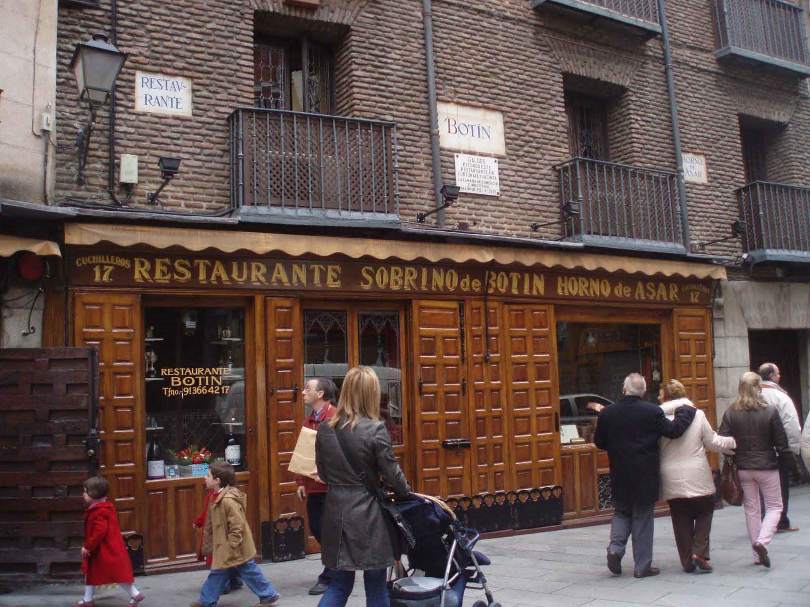 Sangria sol y siesta botin is the world 39 s oldest for Casa botin madrid