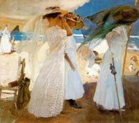 Pincha sobre el cuadro si quieres ver más pinturas de Joaquin Sorolla (web en inglés)