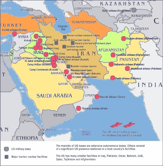 Stars And Stripes Afghanistan Map Bases Hoopers War Peter Van - Map of us bases in iraq