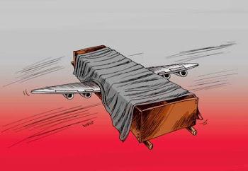 وزیر راه در سقوط هواپیمای بعدی : متأسفانه کسی کشته نشد !