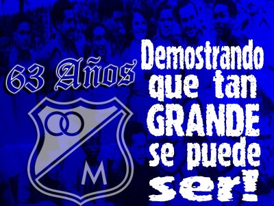Fotomontaje De Millonarios Club Deportivo