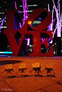 Wallpaper Boneka Danbo Unik