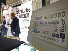 La ONCE lleva la Bienal de Flamenco a 5.000.000 de cupones