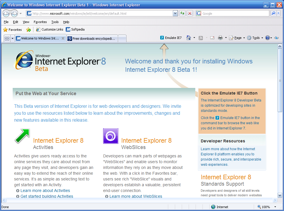 Download Internet Explorer 8 For Windows Xp