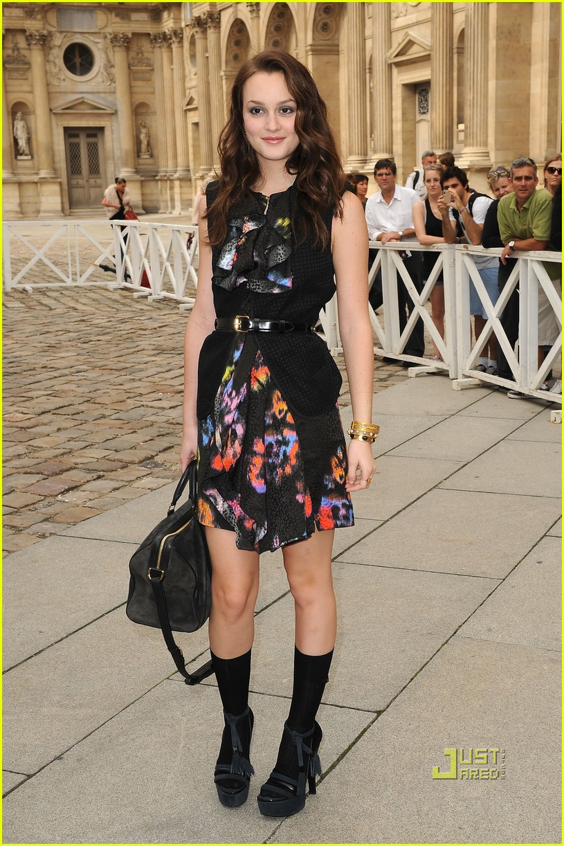 Fashion Style Leighton Meester Celebrity Styles And Fashion