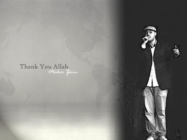 thank you allah Maher zain - thank you allah lyrics i was so far from you yet to me you were always so close i wandered lost in the dark i closed my eyes toward the signs you put in my way i.