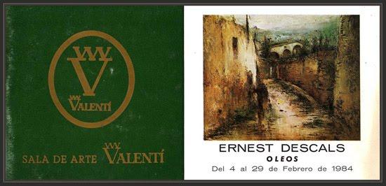Ernest descals la historia del pintor muebles valenti for Muebles valenti catalogo