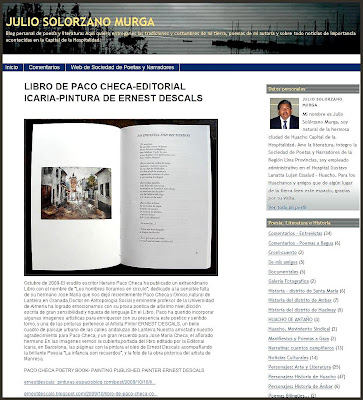LIBRO-PACO CHECA-ERNEST DESCALS-EDITORIAL ICARIA