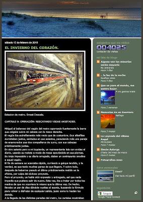 ESTACION DE METRO-ESTACIONES-SUBWAY-STATIONS-ERNEST DESCALS-PINTURAS