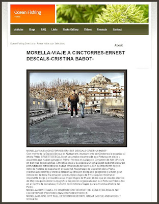 MORELLA-CINCTORRES-CRISTINA BABOT-ERNEST DESCALS-VIAJES