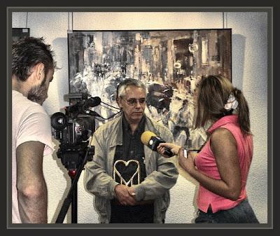 MIRANDA DE EBRO-TELEVISION-PREMIOS-PINTURA-ERNEST DESCALS-SAN FERMINES