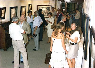 GRANOLLERS-EL QUATRE-ERNEST DESCALS-INAUGURACION-EXPOSICION