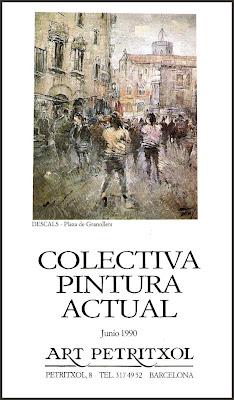 ART PETRITXOL-BARCELONA-EXPOSICION-PINTURA-ERNEST DESCALS