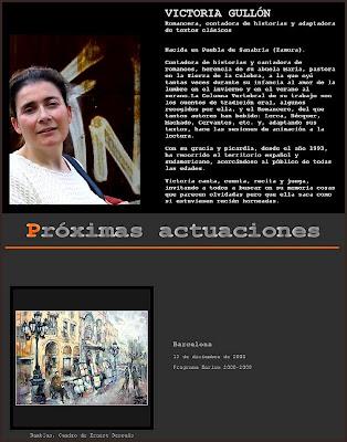 VICTORIA GULLON-PROXIMAS ACTUACIONES-PINTURA-ERNEST DESCALS