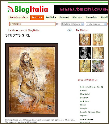 DESNUDOS ARTISTICOS-ERNEST DESCALS-BLOGITALIA