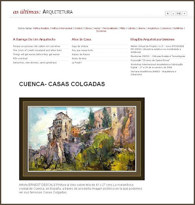 CUENCA-CASAS COLGADAS-ERNEST DESCALS-ARQUITETURA