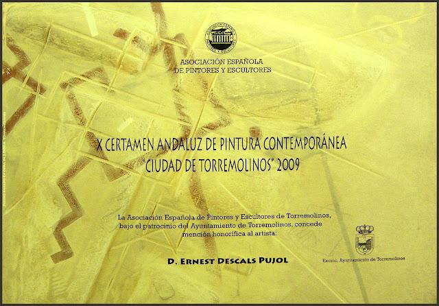 CERTAMEN PINTURA ANDALUZA-CIUDAD-TORREMOLINOS-ERNEST DESCALS