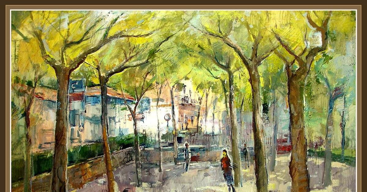 Cuadros ernest descals pinturas ripoll jardines girona - Pintores en girona ...