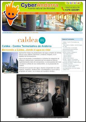 CALDEA-ANDORRA-ESCALDES ENGORDANY-ERNEST DESCALS-PREMIOS PINTURA