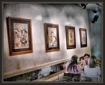 COLECCION-SOBRES DE AZUCAR-ERNEST DESCALS-EXPOSICION DE PINTURAS-CAFE