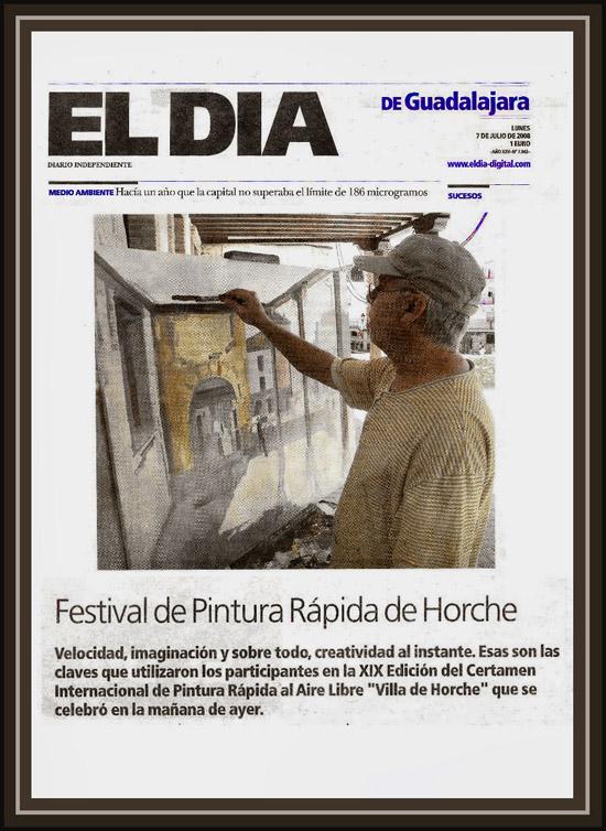 HORCHE-GUADALAJARA-PRENSA-PERIODICO-EL DIA-ERNEST DESCALS