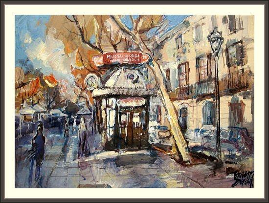 museo de cera-barcelona-taquilla-ramblas-ernest descals-pinturas-cuadros