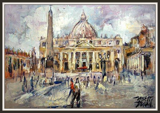 vaticano-roma-basilica-san pedro-italia-vatican-ernest descals